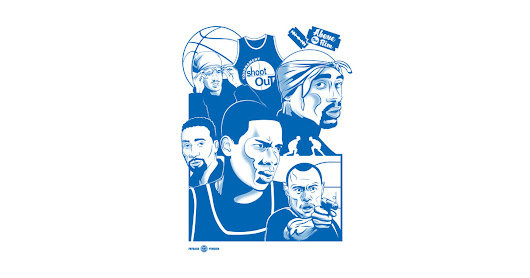 Above the Rim - Blue by paybackpenguin