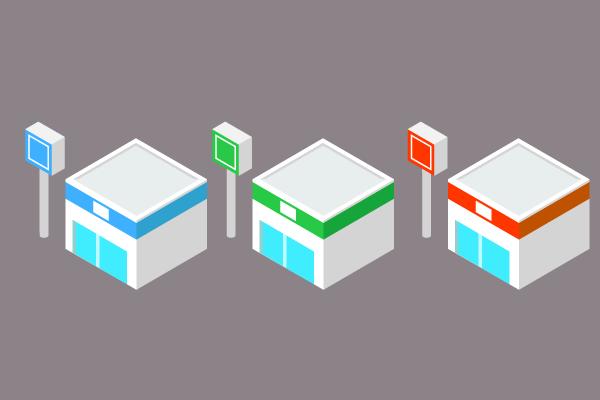 3dのコンビニイラスト 街建物系イラスト専門サイトtown Illust