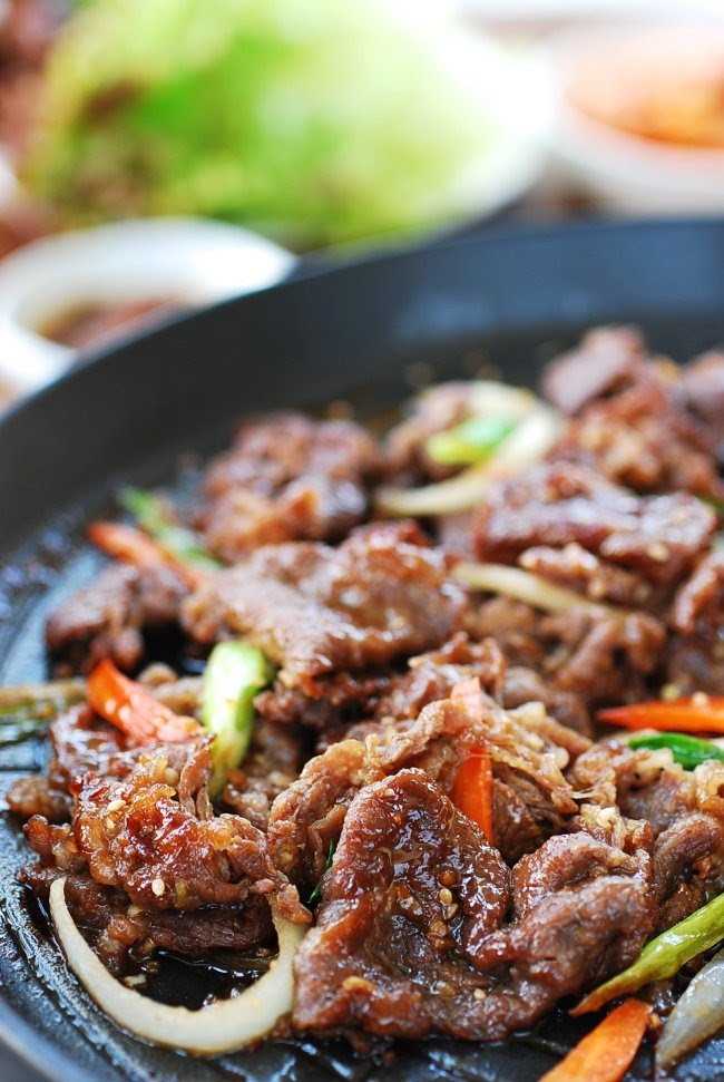 Bulgogi (Korean BBQ Beef) - Korean Bapsang