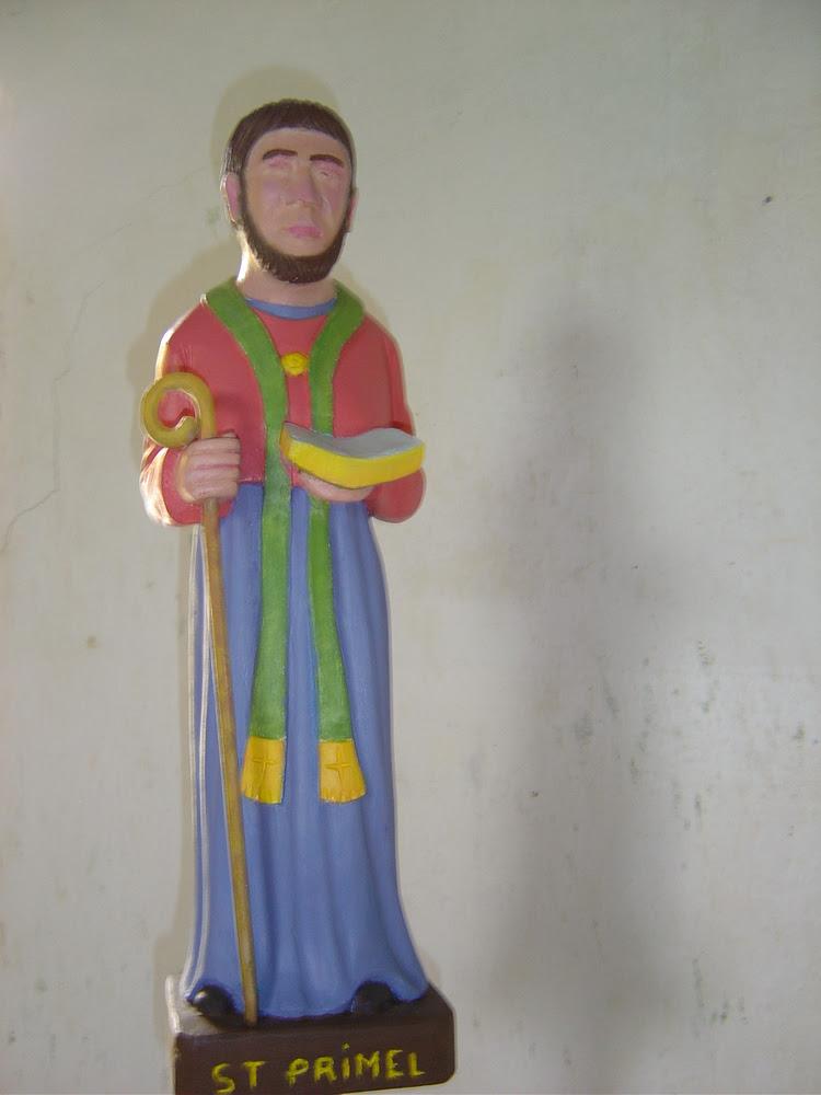 Saint Primaël ou Primel, ermite au diocèse de Quimper († v. 450)