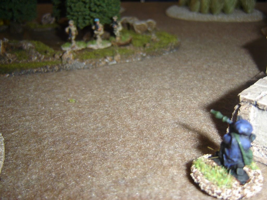 His mates outflank attack