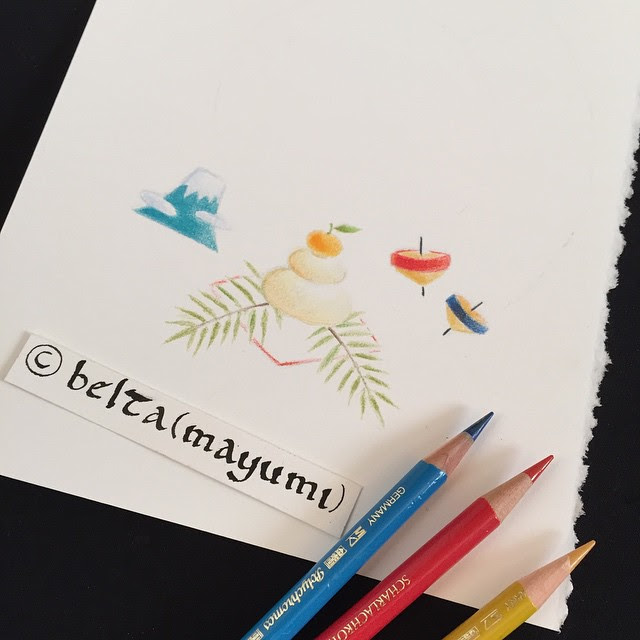 Beltaのcolored Pencil Gallery 色鉛筆ギャラリー 色鉛筆イラスト