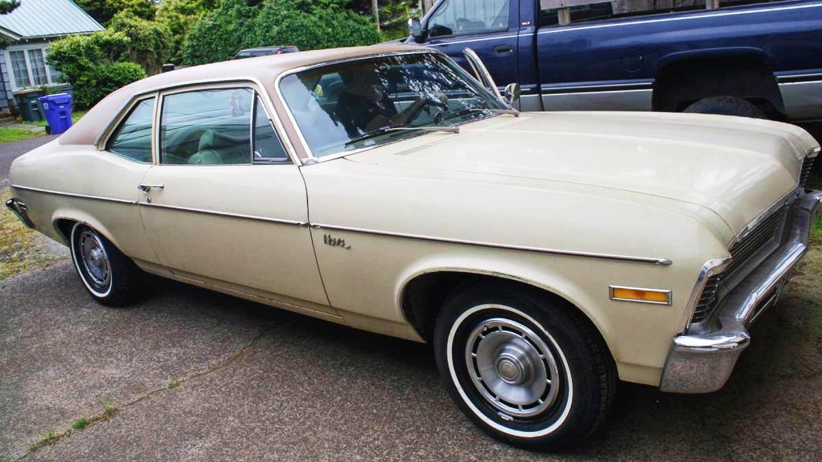 Boop Oop A Doop 1971 Chevy Nova