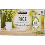 Organic Kirkland signature Rice Milk, 12-Pack, 32-Ounces