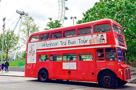 Win B Bakery Vintage Afternoon Tea Bus Tour for Two with Virgin Experience Days