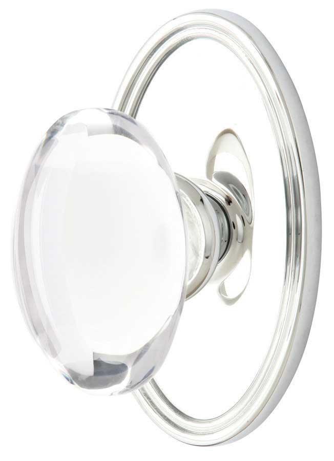 Emtek Hampton Crystal Door Knob - Shop Glass Door Knobs at ...
