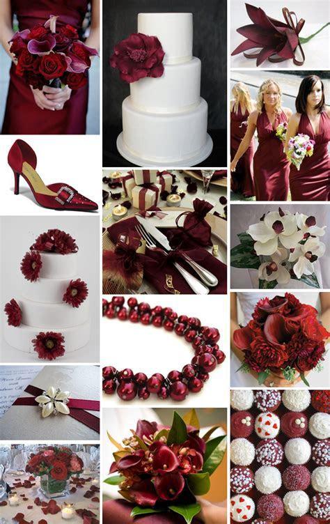 Burgundy and ivory   Say I do   Ivory wedding cake, Maroon