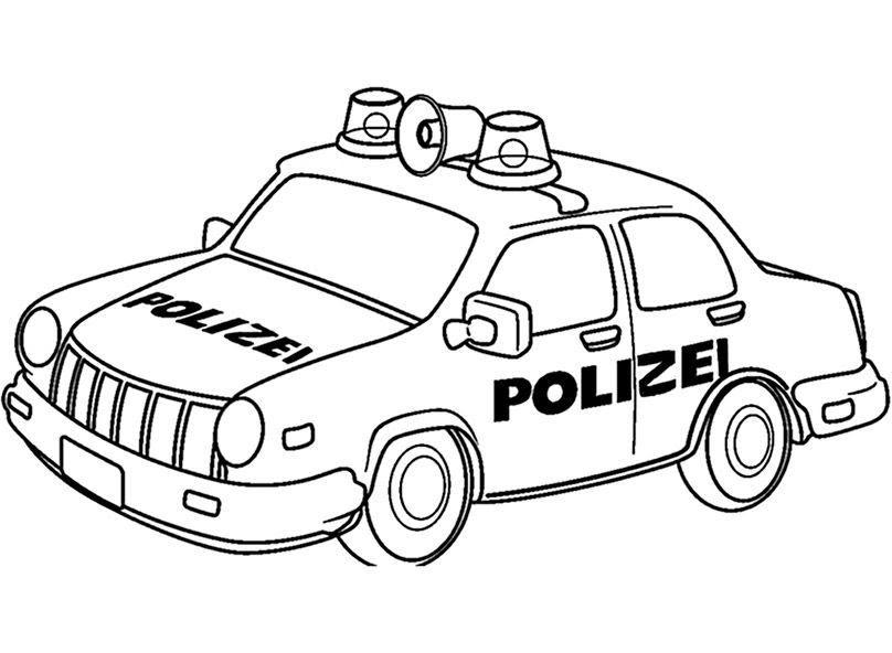 malvorlage polizei dienstmarke