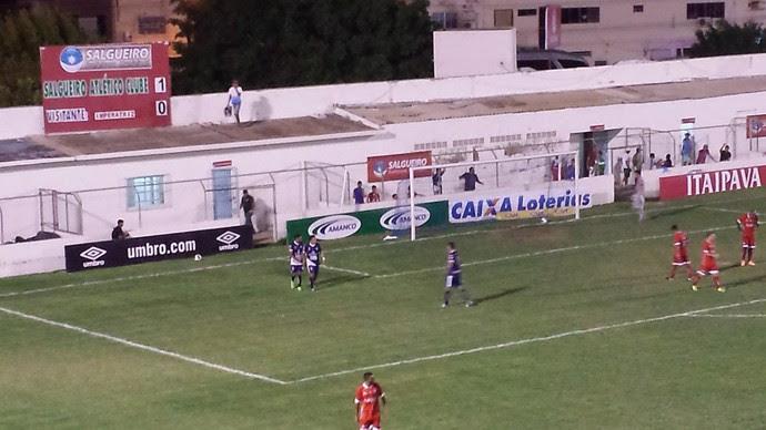 Salgueiro x Imperatriz, Copa do Nordeste (Foto: Ednardo Blast/ TV Grande Rio)