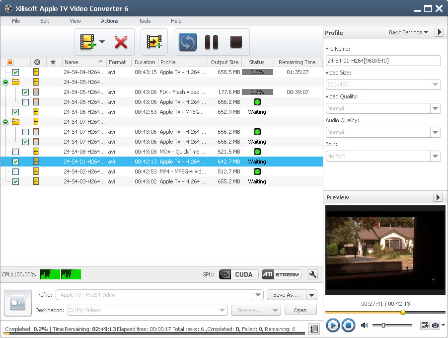 flv to mp4 vlc