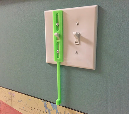 This Light Switch Extender Helps Children Reach The Light Switch