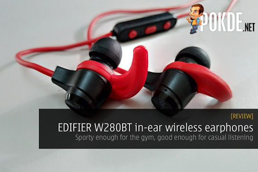 Edifier W280BT in-ear wireless earphones review; sporty enough for the gym, good enough for casual listening – Pokde