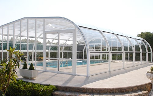 Vega line l abri de piscine haut fixe de vegametal for Entretien abris piscine