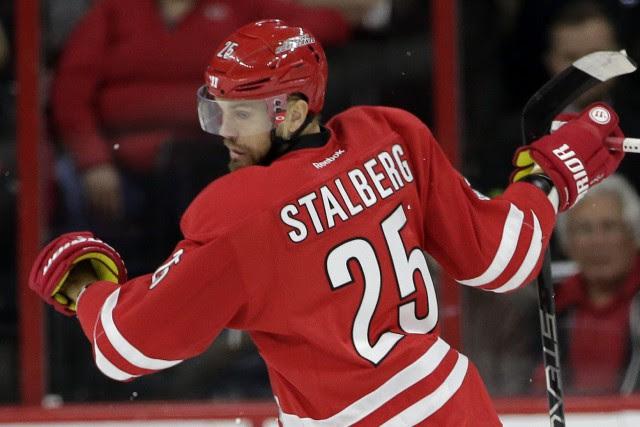 Viktor Stalberg... (Photo Gerry Broome, AP)