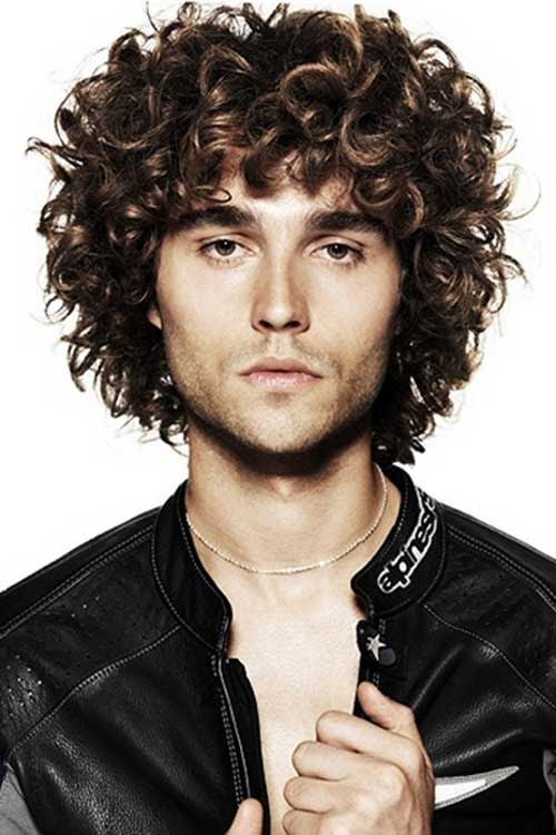 10 Curly  Haired  Guys Mens  Hairstyles  2019