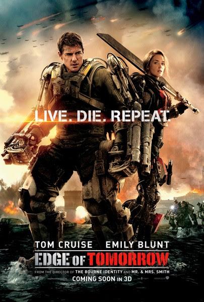 edge of tomorrow1 أكثر 20 فيلم تعرّضاً للقرصنة في 2014