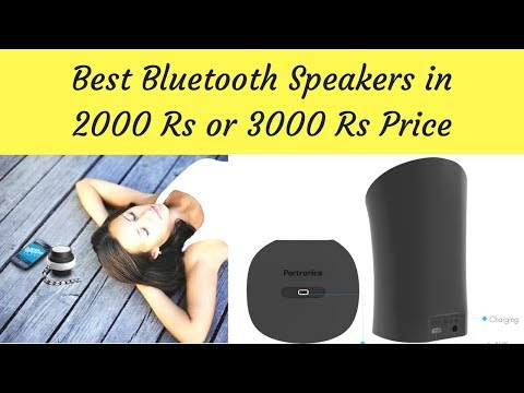 Best Bluetooth Speakers in India under 1000 Rs budget