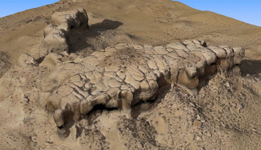 Pretty Rock: Creating Virtual Interactive Models of Places of the Past