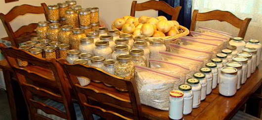 How To Buy and Store 260 Pounds of Food for just $83 - Ask a Prepper