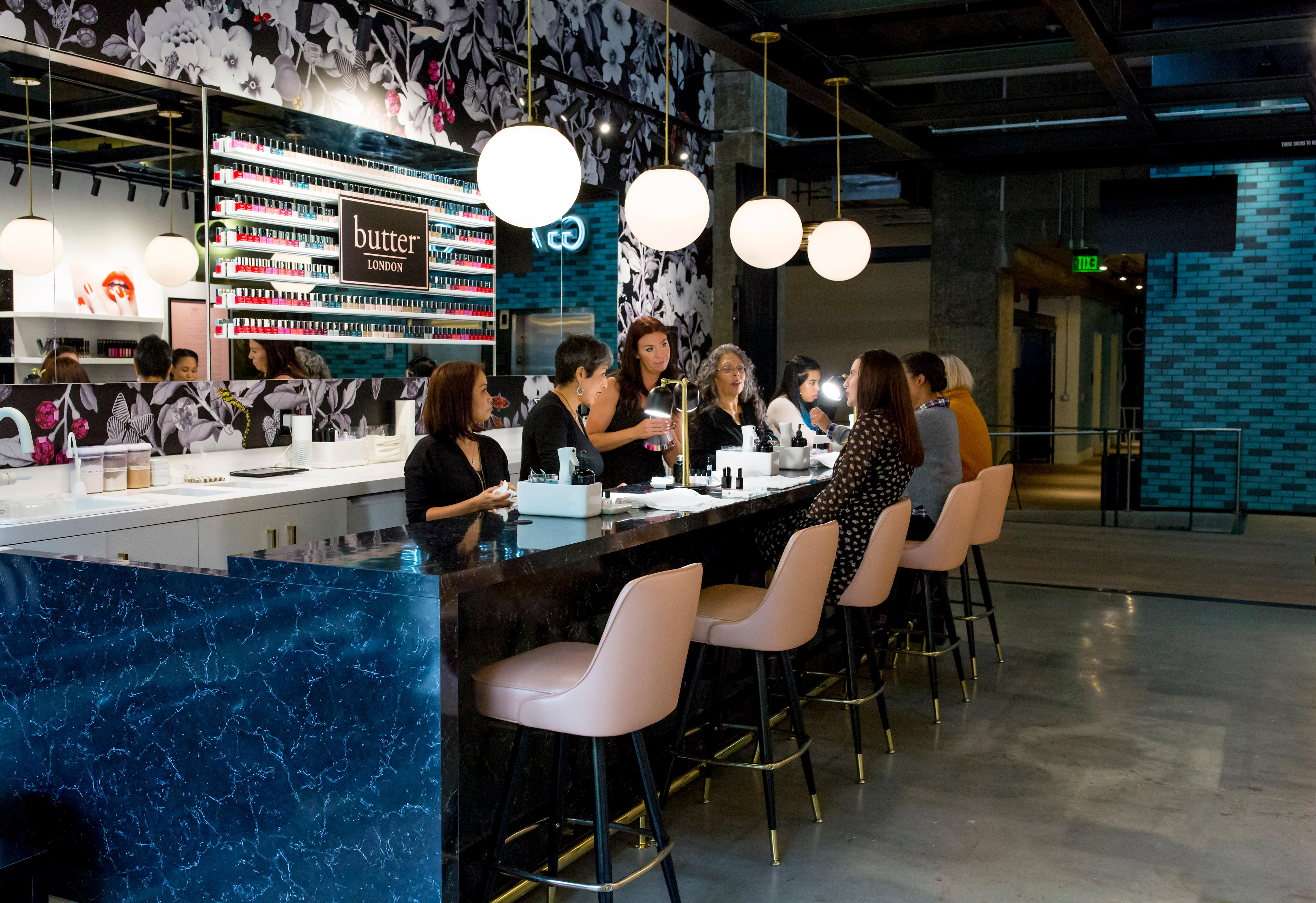 Photos: butter LONDON just opened their flagship nail bar ...