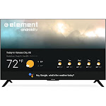 "Element - 55"" Smart TV with Google Assistant - 4K UHD"