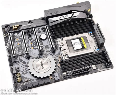 asrock  taichi motherboard review goldfries