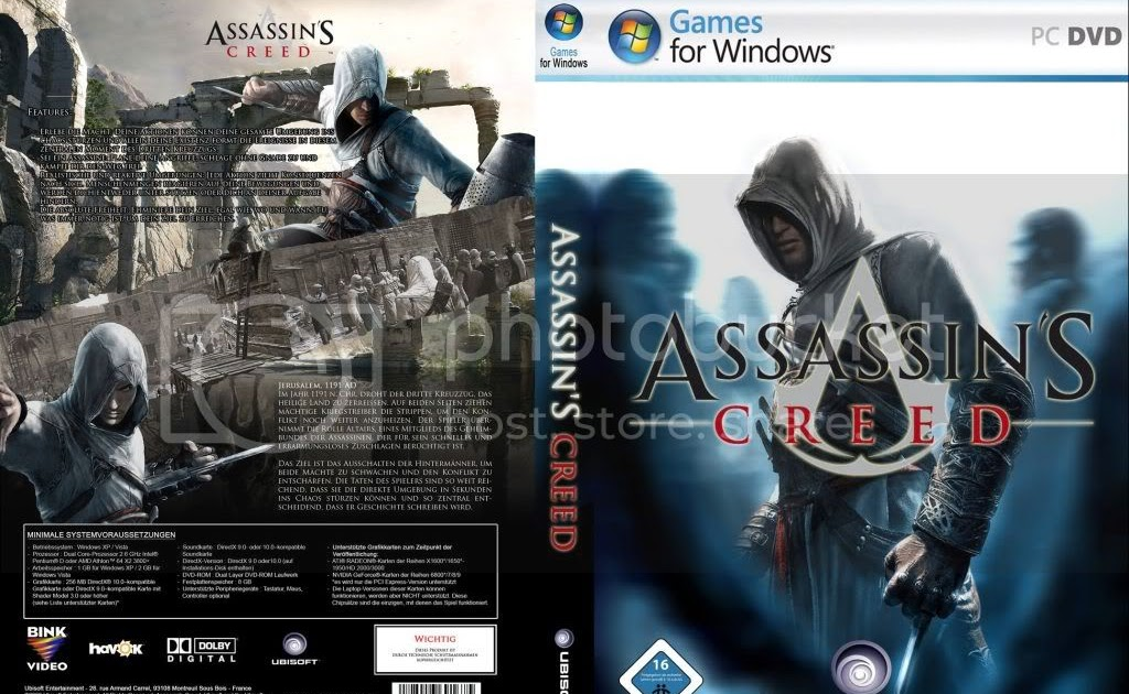 Ronan Elektron: Assassin's Creed 1 PC Full Version