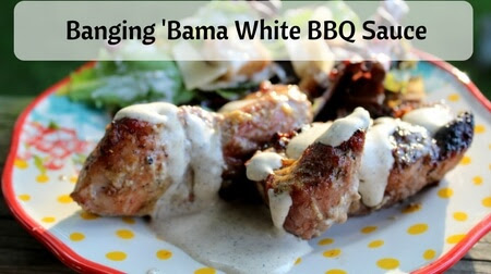 Banging 'Bama White BBQ Sauce | Wonderfully Made and Dearly Loved