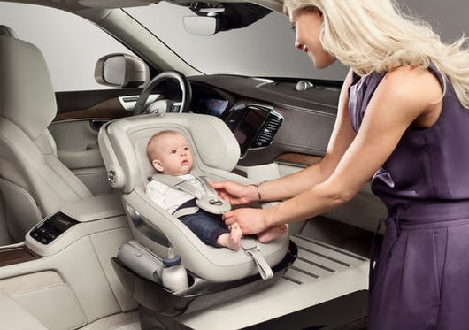 Volvo tries out novel baby seat idea > KAGS TV - College Station, Texas