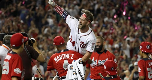 Home Run Derby results today: Bryce Harper of Washington Nationals wins - CBS News https://hubs.ly/H0d1G240...