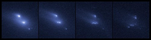 Hubble Witnesses an Asteroid Mysteriously Disintegrating by NASA Goddard Photo and Video
