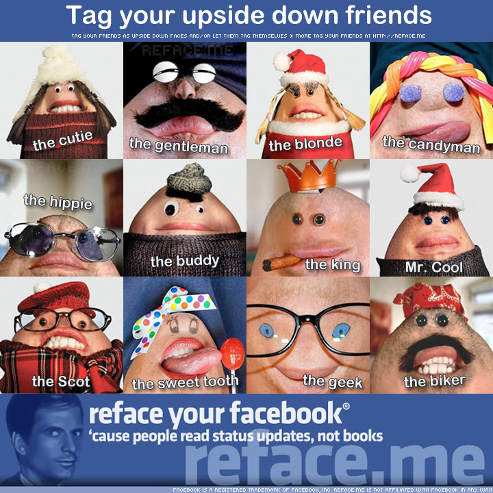 Tag Your Upside Down Friends On Facebook