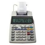 Sharp EL1750V LCD 2-Color Printing Calculator, 12-Digit LCD, Blk/Rd (SHREL1750V)