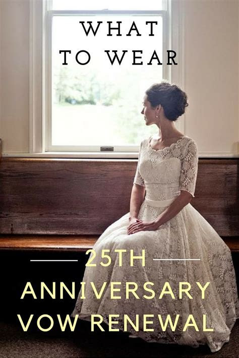 what to wear 25th anniversary   Vow Renewal Dresses