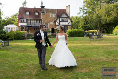 Farnham House Wedding Photography - Surrey Wedding Photographer - Jennifer and Simon