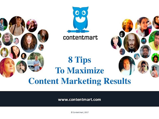 Maximize Content Marketing Results