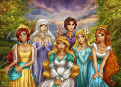 Non-Disney Princesses - Childhood Animated Movie Heroines ...
