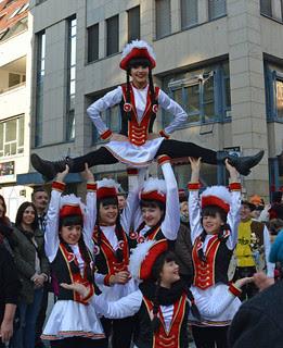 Acrobatic women