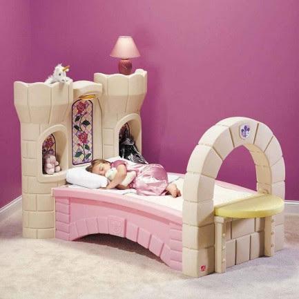 Castle Beds For Girls Loft Plans   Feel The Home