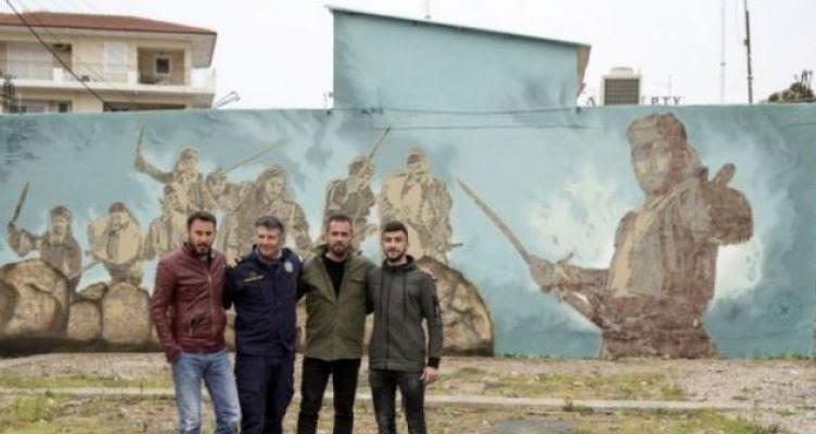 Graffiti για Γκίνες στο Μεσολόγγι! (Φωτό)