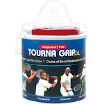 Tourna Grip XL Grips 30 ct Pack, Blue