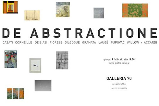De Abtractione: Willow in mostra alla Galleria 70