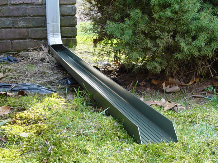 downspout gutter drain system lg