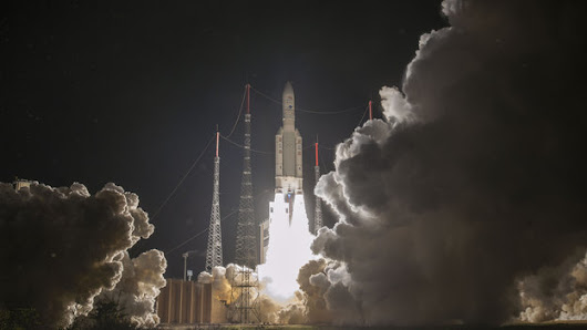 BepiColombo blasts off to investigate Mercury's mysteries