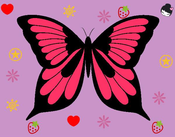 Disegno Farfalleke Belle Colorato Da Cacodidi Il 13 Di