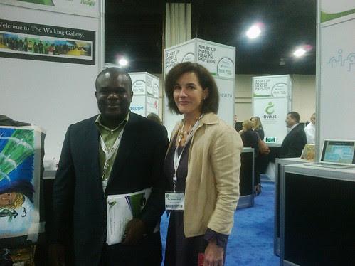 Kevin Adomayakpor and Christine Kraft