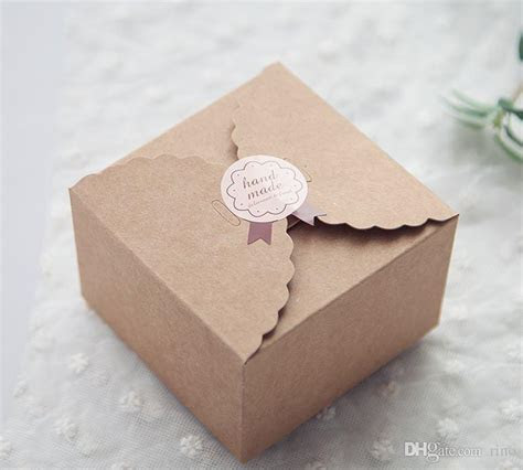 Wedding Favors Gift Boxes Candy Boxes Simple Style Kraft