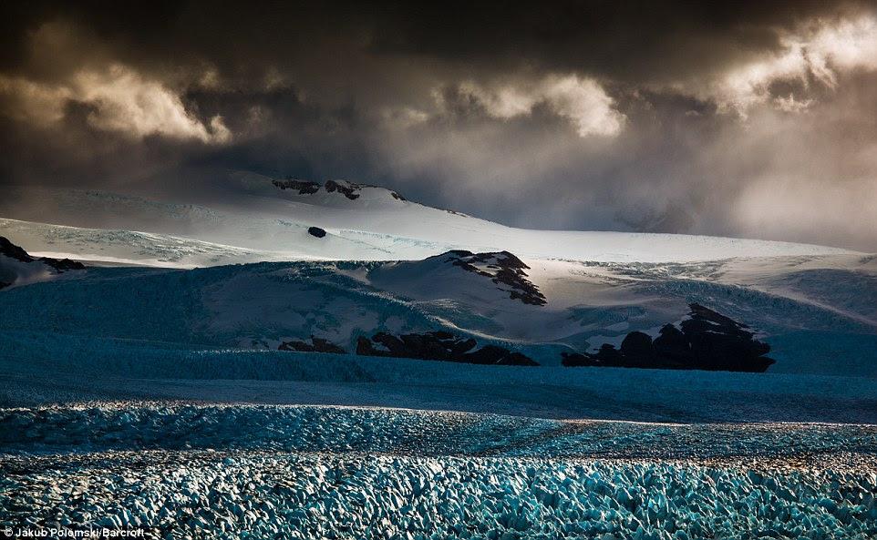 Le glacier Perito Moreno se trouve à l'UNESCO classé au patrimoine mondial Parc national Los Glaciares de Patagonie