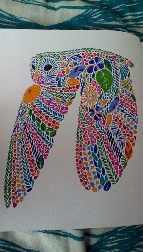 millie marottas animal kingdom owl colored pages