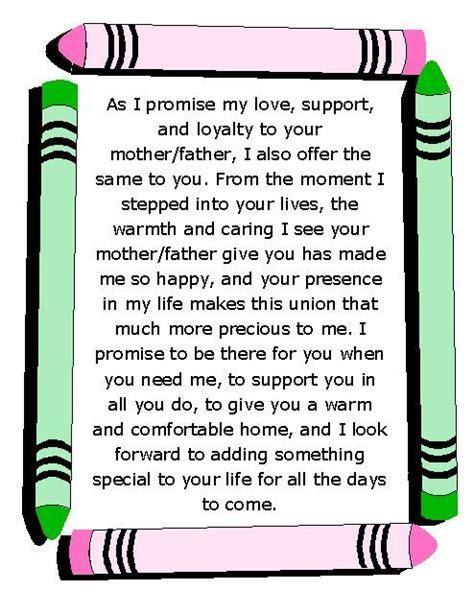 Wedding Vows Wednesday   Vows to Children   Lyssabeth's